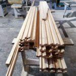 Деревянные декоративные рейки